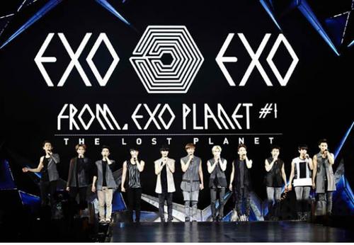 Lượng khán giả của EXO tăng đột biến chỉ sau 1 năm.