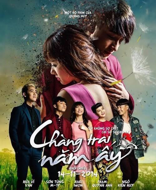 Bộ phim Chàng trai năm ấy do Sơn Tùng diễn xuất chính cũng lọt vào top tìm kiếm.