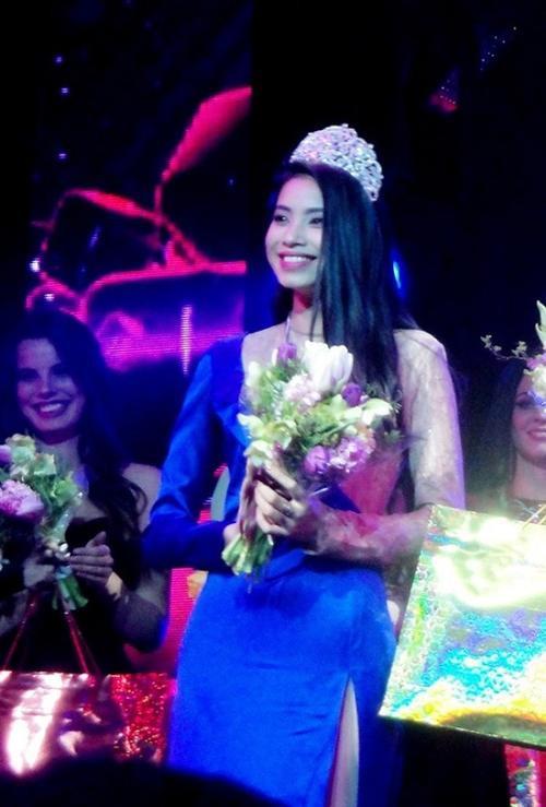 Dù đạt giải Á hậu 1 một cuộc thi sắc đẹp, nhưng cô chưa thực sự gây chú ý.