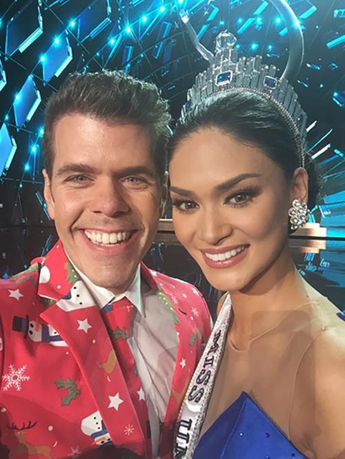 Perez Hilton từng chọn Colombia giành chiến thắng nhưng thay đổi quyết định sau phần thi ứng xử và bầu cho Philippines.