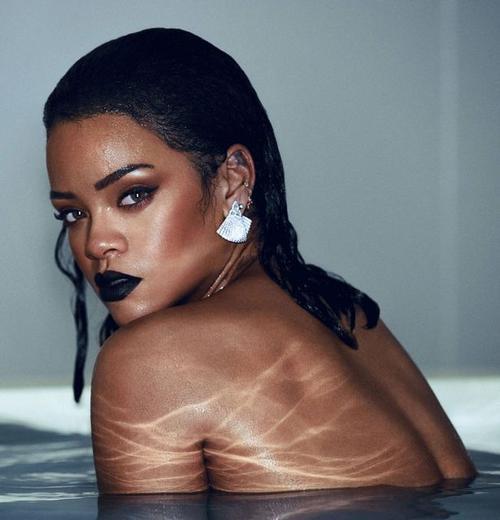 Hình ảnh Rihanna trong album mới Anti.