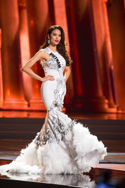 Cô là đại diện Việt Nam hiếm hoi được chú ý tại đấu trường quốc tế.