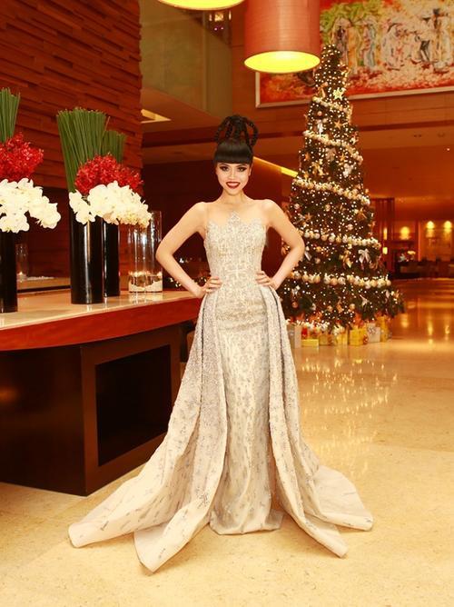 Jessica Minh Anh Giam Khao CK Sieu Mau 2015 17
