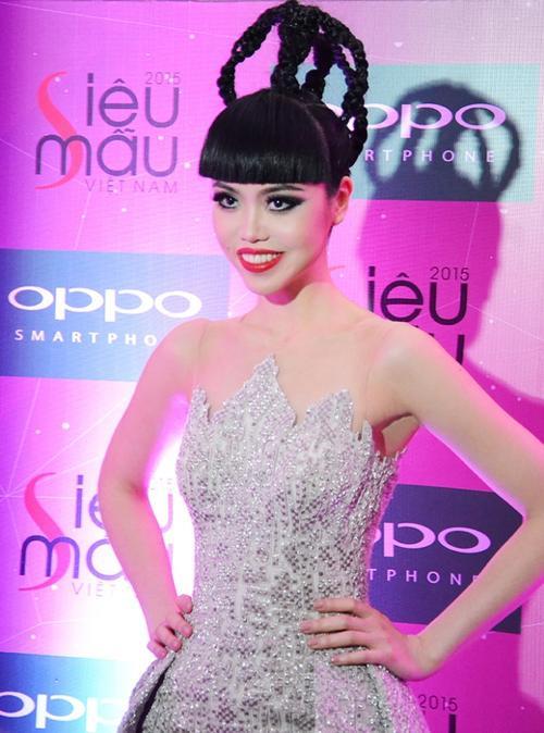 Jessica Minh Anh Giam Khao Sieu Mau 2015 2