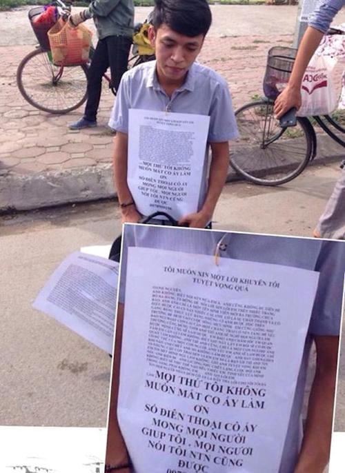 4. những màn van xin níu kéo tình cảm của Trai Việt