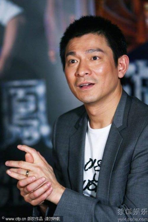 Lưu Đức Hoa xếp vị trí thứ 8.