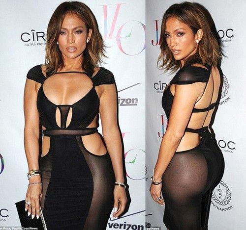 Chiếc váy mà Bao Tranchi thiết kế cho Jennifer Lopez nhân dịp sinh nhật.