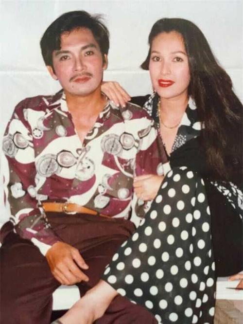 Diễm My và Thương Tín thời yêu nhau.