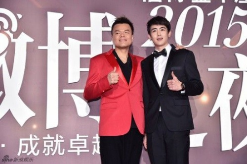 Park Jin Young và Nichkhun.