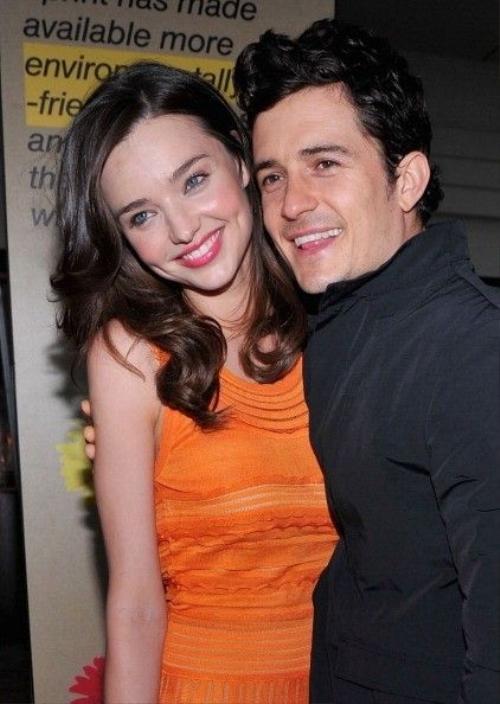 Miranda và chồng cũ Orlando vẫn giữ quan hệ bạn bè.