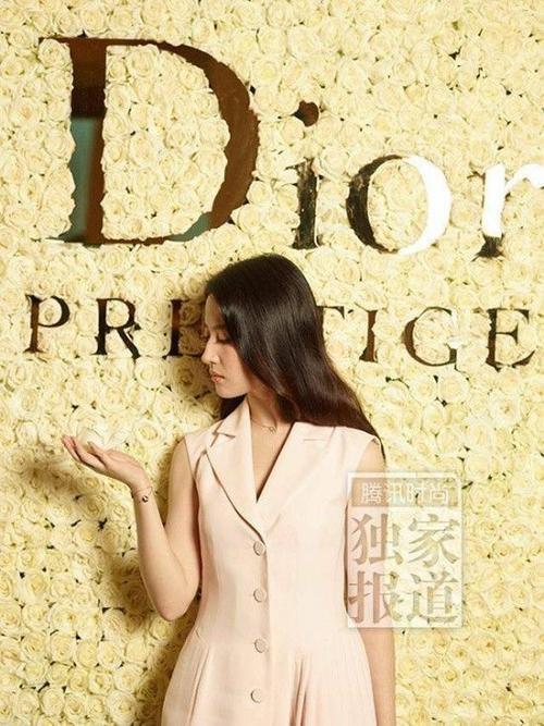 Lưu Diệc Phi là đại diện của thương hiệu Dior.