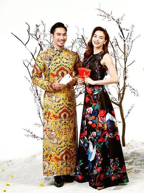Nhà thiết kế Lý Quý Khánh và ca sĩ Hồ Ngọc Hà.
