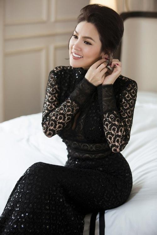 Cận cảnh nhan sắc Á Hậu doanh nhân người Việt 2016, nữ doanh nhân Phương Lê.