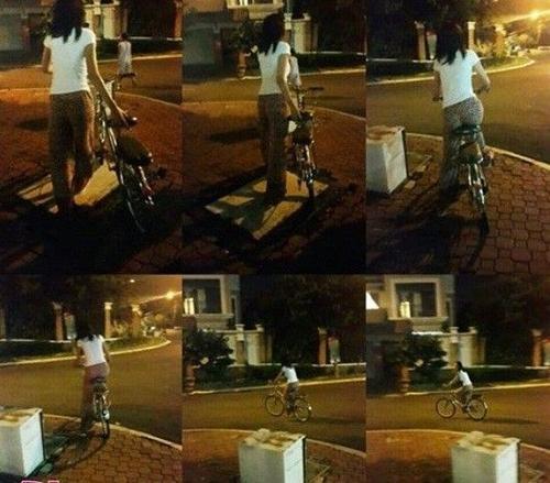 Cô khiến không ít người thán phục, ngưỡng mộ trước hành động đạp xe đến gặp fan lúc 2h sáng trong tình trạng sốt cao