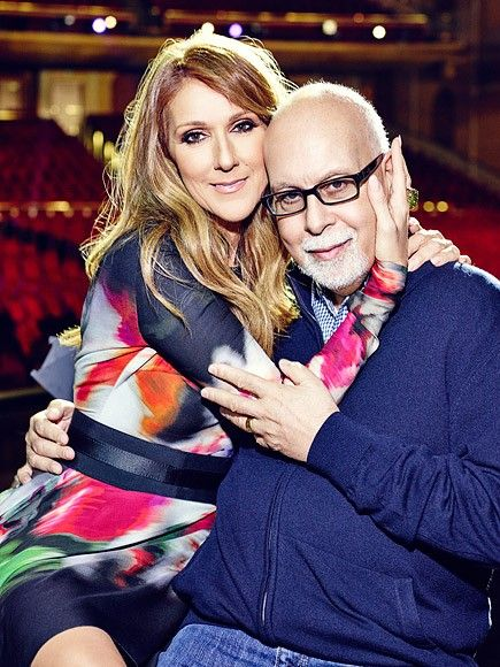 Céline Dion và người chồng René Angélil