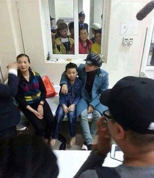 Sơn Tùng M-TP đến thăm fan nhí 10 tuổi mắc bệnh hiểm nghèo