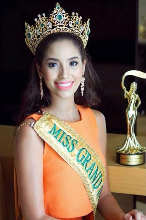 Anea Garcia (Cộng hòa Dominica) - Đương kim Hoa hậu Hòa bình Quốc tế 2015.