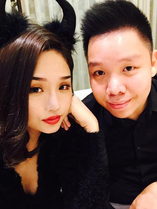 1.11.2014: Miu Lê đăng hình ảnh bạn trai và gọi anh là My man :xxx