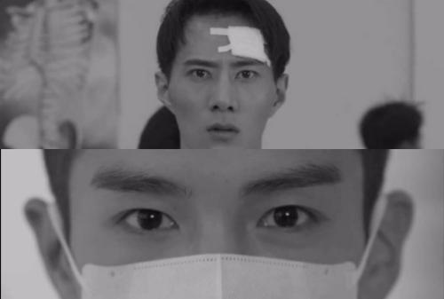 Ánh mắt Bồng Bồng khi là Trương Bằng (ảnh trên) nhìn Tề Thịnh.