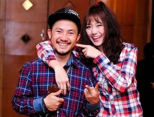 Hari Won - Đinh Tiến Đạt thuở còn yêu nhau.