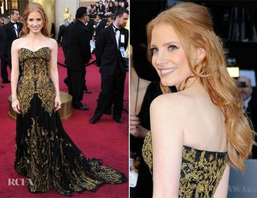 Jessica-Chastain-in-Alexander-McQueen-2012-Oscars