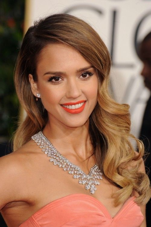 Jessica-Alba-at-Golden-Globes-2013