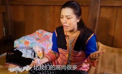 Cát Thiên khóc khi nói về cuộc sống.