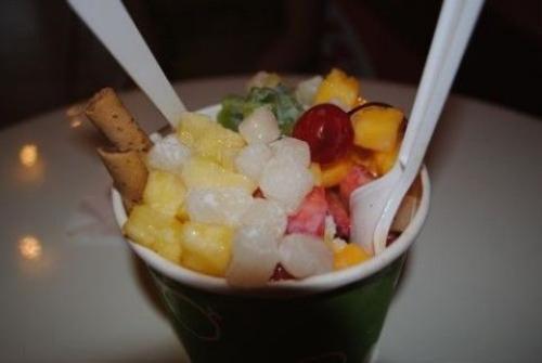 Pat Bing Su còn được đưa vào thực đơn của chuỗi cửa hàng đồ ăn nhanh nổi tiếng như MacDonalds, KFC, Burger King, Lotteria làm món tráng miệng cho thực khách trong những ngày hè nóng nực. Bạn cũng có thể thưởng thức Pat Bing Su ở các cửa hàng bánh ngọt.