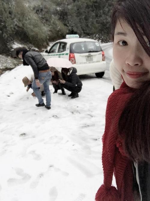 Chỉ là tuyết thôi mà! Ảnh: Tuyết Silky