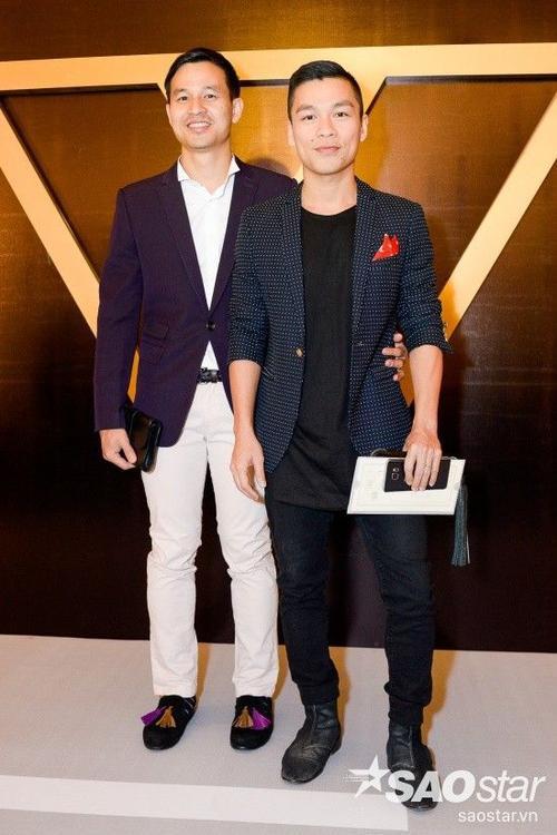 Cặp đôi NTK Adrian Anh Tuấn và bạn đời - doanh nhân Sơn Đoàn