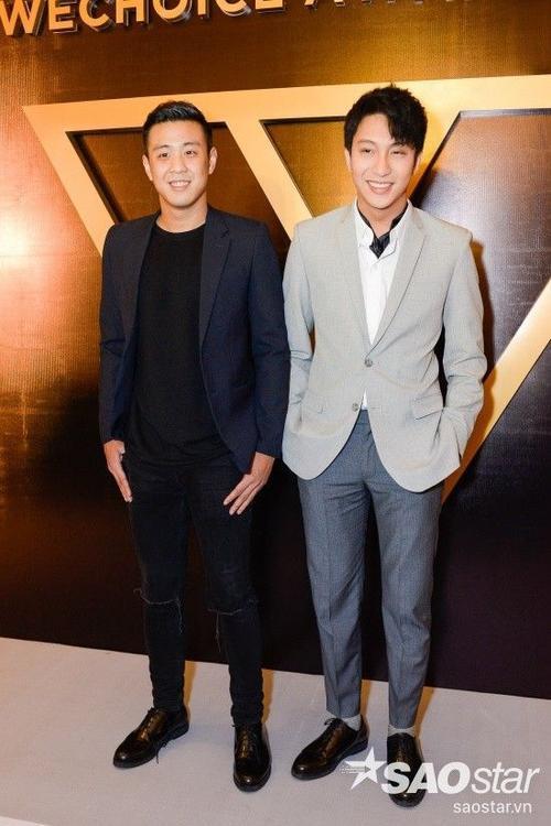 Diễn viên Bê Trần và HuyMe