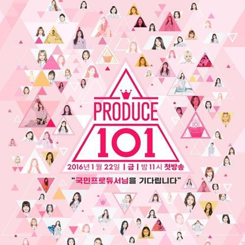 Poster Produce 101.