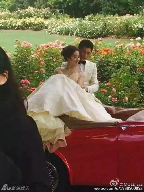 Lưu Thi Thi và Ngô Kỳ Long chụp ảnh cưới tại new Zealand.