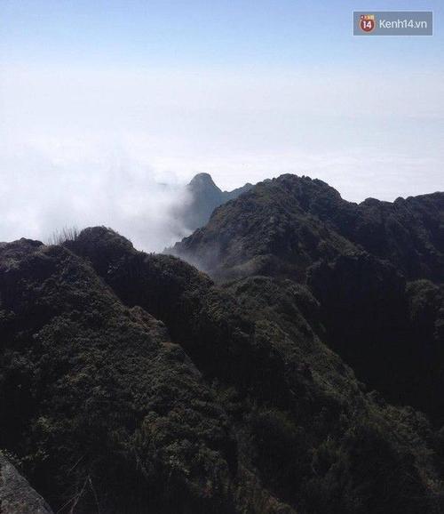 Những cảnh sắc tuyệt đẹp như tranh trên đỉnh Fansipan.