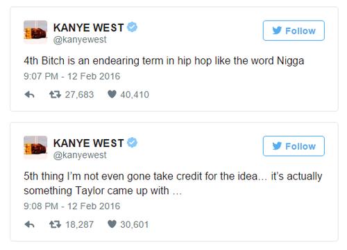 Kanye đăng đàn lời giải thích về ca khúc Famous.
