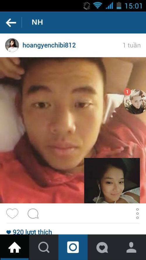 Mặc dù hình ảnh này đã bị xóa ngay sau đó, nhưng một trang fanpage cũng đã đăng tải hình ảnh của Hoàng Yến Chibi trò chuyện cùng Lý Hoàng Nam