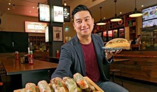 Chàng trai khởi nghiệp từ món ăn Việt.