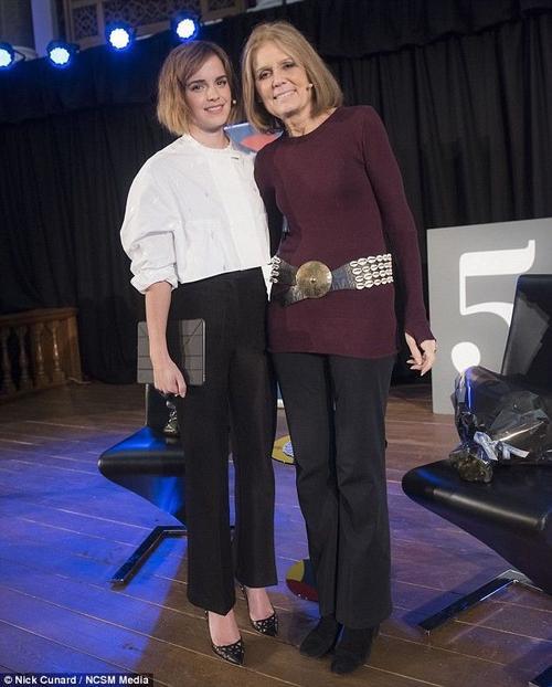Emma và nhà hoạt động nữ quyền  Gloria Steinem