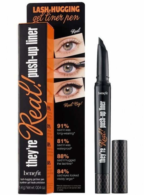 """Bút kẻ mắt """"thần thánh"""" nhà Bennifit, giá là dòng bút gel duy nhất giúp đôi mắt thêm phần rõ nét nhưng không quá sắc xảo như các sản phẩm eyeliner khác."""