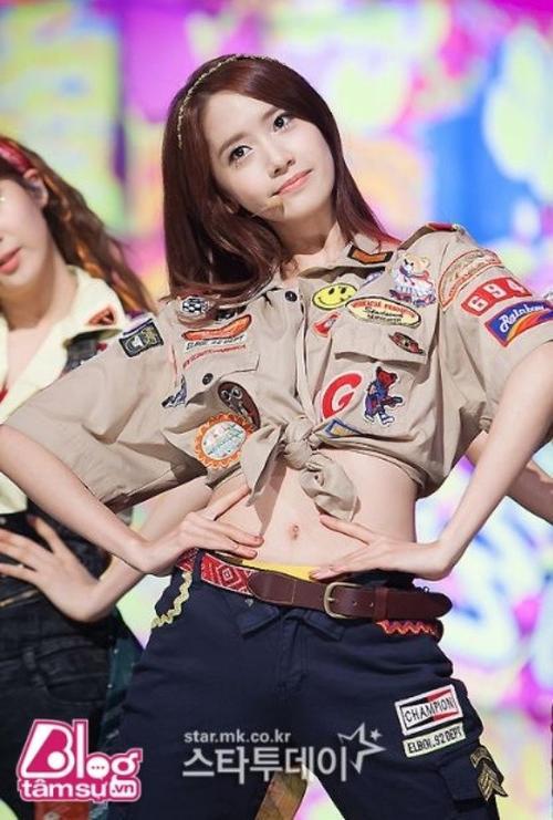 Yoona cũng có mặt trong Top.