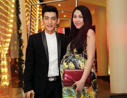Phi Thanh Vân vẫn năng động ngay cả khi mang bầu. Ảnh: NVCC