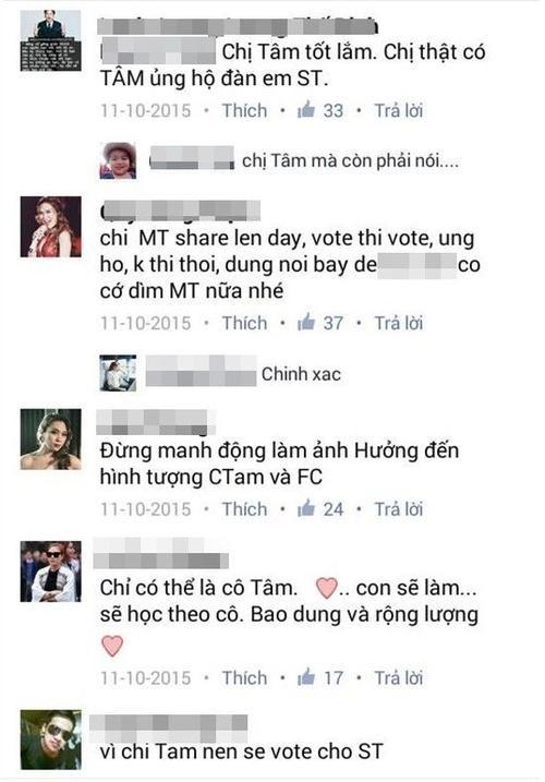 Các fan Mỹ Tâm đồng loạt vote cho Sơn Tùng cho giải thưởng MTV EMA 1 năm trước.