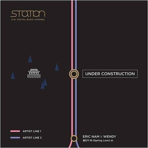 Những hình ảnh úp mở về dự án của SM khiến fan không khỏi tò mò.