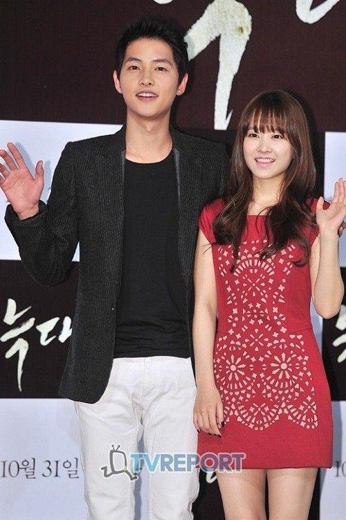Song Joong Ki và Park Bo Young