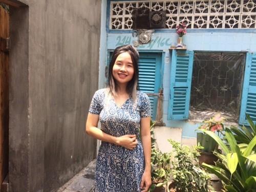 Hình ảnh mới nhất của ca sĩ Mai Khôi trưa hôm nay (11.3).