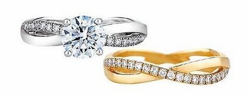 Nhẫn cưới đắt tiền của Thi Thi.