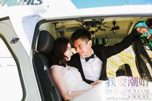 Công bố thêm ảnh cưới ở New Zealand của cặp đôi.