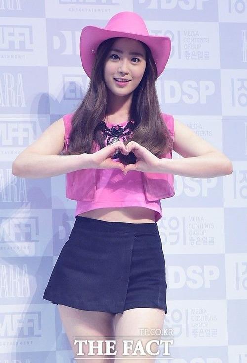 Chương trình có sự góp mặt của Youngji - cựu thành viên KARA.