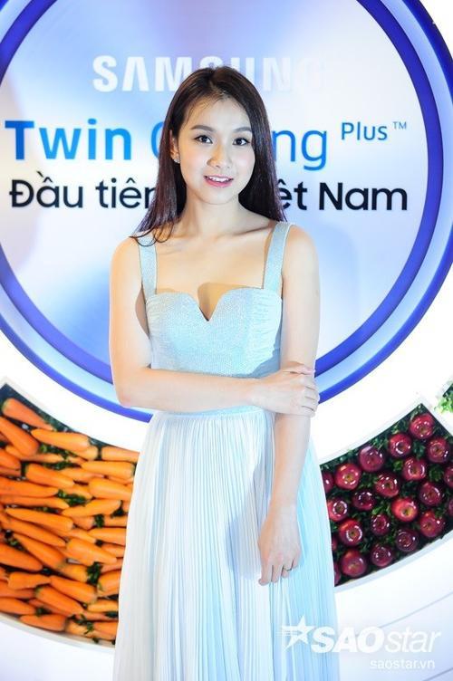 Vẻ đẹp sang trọng của Hoa hậu Hoàn Vũ Việt Nam 2008.