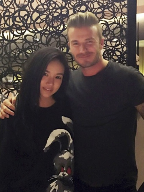 ... và cả David Beckham.